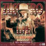 """Zucchero """"Sugar"""" Fornaciari in concerto a Venezia, in Piazza San Marco, con il suo """"The best live"""""""