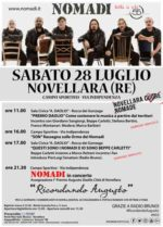 "Nomadi in concerto a Novellara ""Ricordando Augusto"""