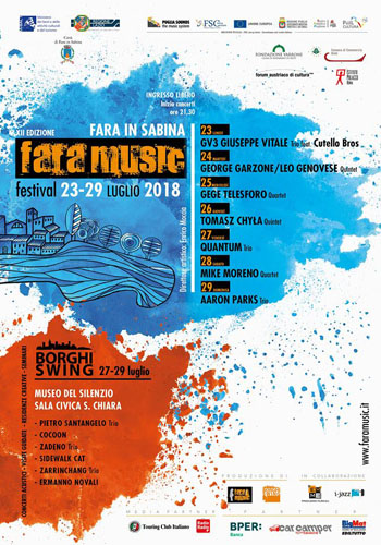 Fara Music Festival, al via la XII edizione