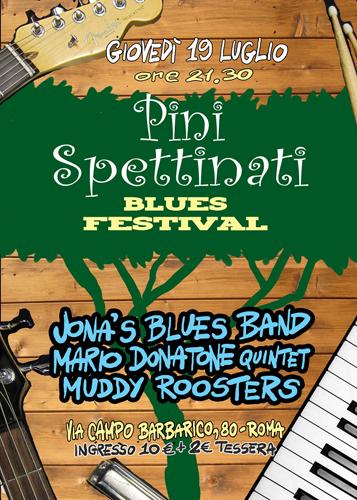 Pinispettinati Blues Festival, al via la I edizione. Sul palco Jona's Blues Band, Mario Donatone Quintet, Muddy Roosters