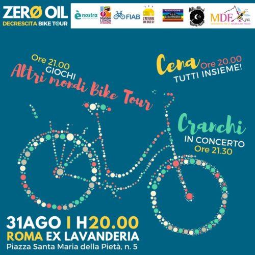 Dall'Ex Lavanderia parte il Decrescita Bike Tour 2018 – III edizione