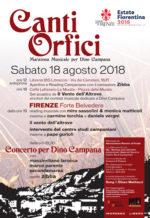 Grande maratona musicale per Dino Campana