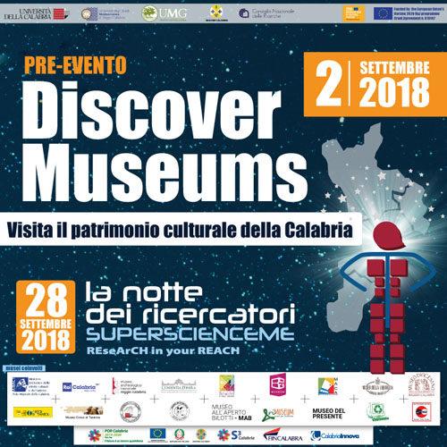 Discover Museums. Presentazione del volume Enotri e Brettii in Magna Grecia. Modi e forme di interazione culturale