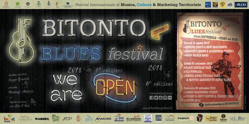 Il Bitonto Blues Festival festeggia il sesto anno con sempre grande blues