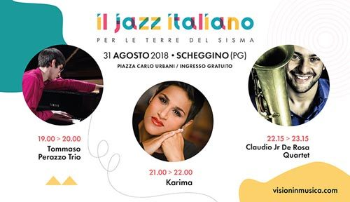 Il Jazz Italiano per le terre del sisma approda a Scheggino