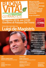 """A Cetraro la II edizione di """"Buona Vita!"""" e intervista-incontro con il sindaco Luigi De Magistris"""