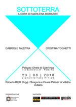 Sottoterra, la collettiva di arte contemporanea a Palazzo Oneto di Sperlinga a Palermo