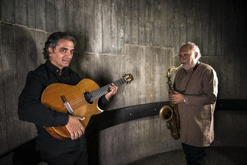 Chitarra e sassofono per una musica senza confini