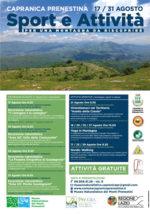 Sport e Attività per una Montagna da Riscoprire