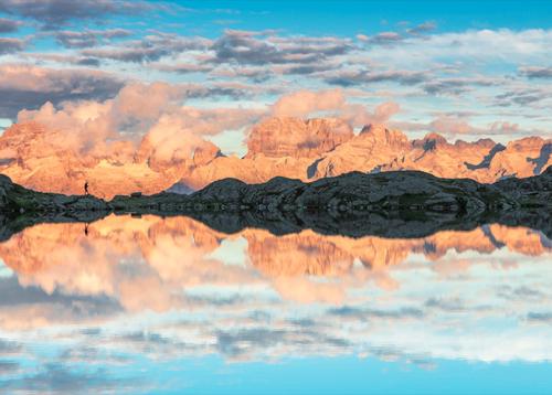 Fotografi sostenitori della Fondazione Dolomiti UNESCO in mostra,