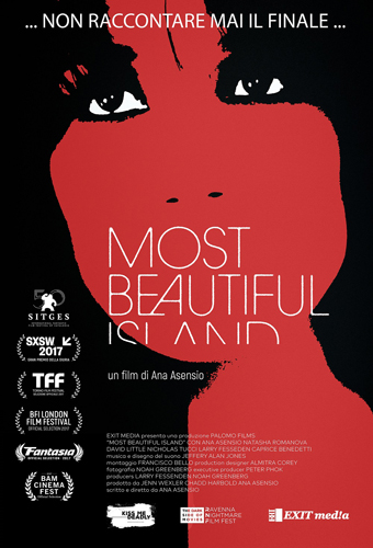 'Most Beautiful Island', film d'esordio alla regia dell'attrice Ana Asensio