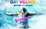 Ferragosto di Schiuma al Gay Village di Roma