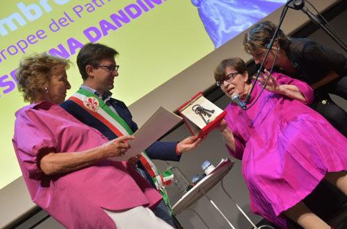 """A Franca Valeri le Chiavi della Città di Firenze nell'ambito del festival """"L'Eredità delle Donne"""" – Firenze"""