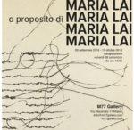 A proposito di Maria Lai