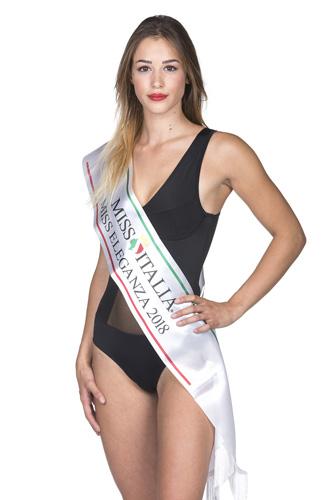 Miss Italia, Giulia Auer è Miss Eleganza 2018