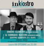 Inkiostro: Emidio Clementi & Corrado Nuccini a Cori