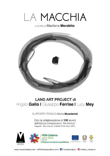 La Macchia Land Art Project al Museo MABOS a Sorbo San Basile (Cz)