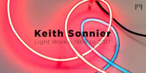 Light Works, 1968 to 2017, la prima personale di Keith Sonnier alla Galleria Fumagalli di Milano