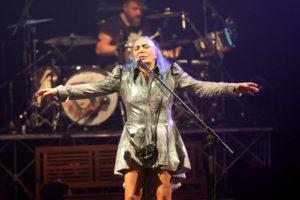 Loredana Berte' esalta e diverte al Festival d'Autunno