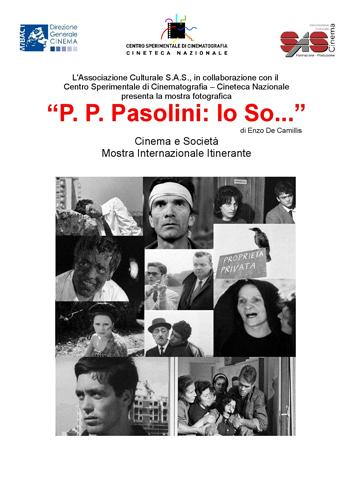 """""""P. P. Pasolini: Io So…"""", la mostra fotografica di Enzo De Camillis approda a Roma"""