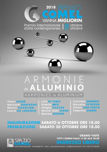 Premio COMEL Vanna Migliorin Arte Contemporanea 2018: al via la mostra Armonie in Alluminio
