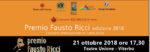 Premio Fausto Ricci, al via la VI edizione