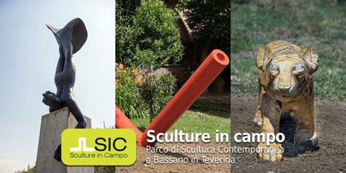 SIC. Sculture in campo Il Parco di Scultura Contemporanea di Bassano in Teverina inaugura l'installazione di tre nuovi lavori