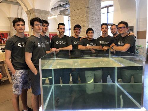 """In Progetto Manifattura a Rovereto """"atterrano"""" gli Space Lions di Treviso"""