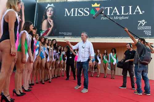 """Il regista delle prefinali di Miss Italia, Tony Scheinman: """"Racconteremo l'anima delle ragazze"""""""