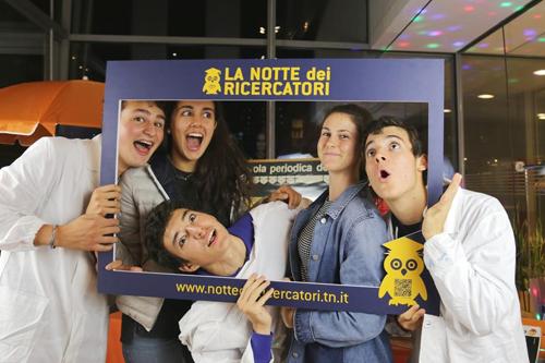 Domani a Trento la Notte dei Ricercatori 2018