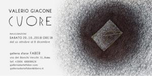 CUORE, la mostra di Valerio Giacone