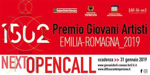 """Apre il bando per partecipare a """"1502. Premio Giovani Artisti-Emilia-Romagna 2019"""""""
