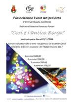 Cori e l'Antico Borgo. Il concorso di estemporanea di pittura dedicato al Maestro Francesco Porcari