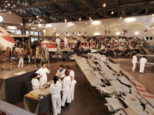 Museo per la Memoria di Ustica di Bologna, Presentato l'esito del primo cantiere-scuola per la ripulitura del velivolo DC9 Itavia