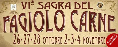 Fagiolo Carne, la sesta edizione della sagra fabrichese per due week-end all'insegna del gusto