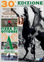 Michelle Carpente, Roberto Ciufoli e Miriana Trevisan alla 30^ edizione della Fiera di Ottobre ad Arischia