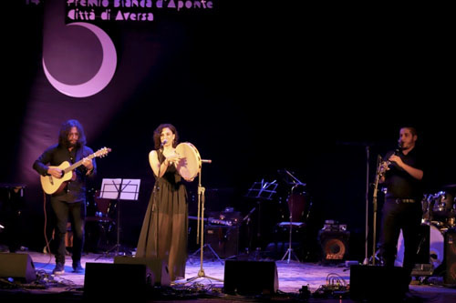 Francesca Incudine vince il Premio Bianca d'Aponte 201