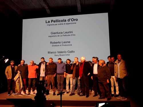 Francesco Rutelli Premia i Mestieri e gli artigiani de La Pellicola d'Oro