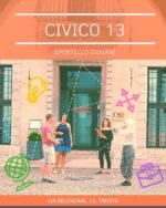 Open day al Civico 13: un pomeriggio di festa allo sportello giovani