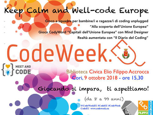 English Corner & Keep Calm and Well – Code Europe