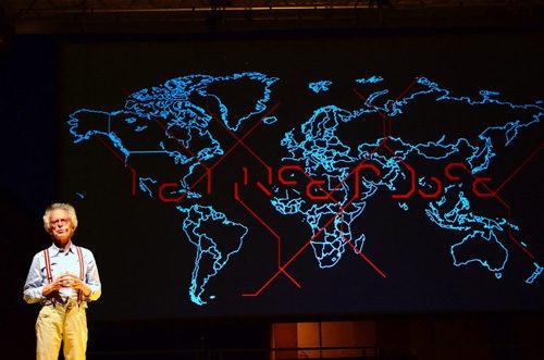 Federico Rampini in Le Linee Rosse per il IX Festival della Diplomazia al Teatro Palladium di Roma