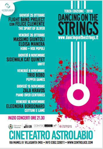 Dancing on the strings. Al via a Villasanta la terza edizione