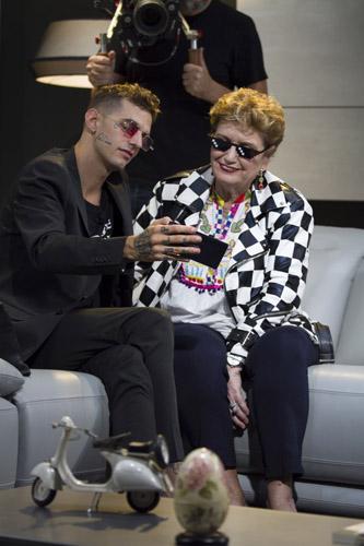 """Mara Maionchi protagonista del nuovo programma su Sky Uno firmato Billboard Italia """"Mara Impara - La nuova musica"""""""