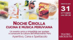 """Roma celebra la """"Noche Criolla 2018"""" al Teatro Arciliuto di Roma"""
