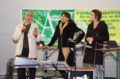 Conclusa la 30^ edizione della Fiera di Ottobre ad Arischia. Presenti Roberto Ciufoli, Miriana Trevisan e Michelle Carpente