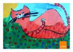 """SOLETERRE: prosegue fino a martedì 17 novembre il concorso nazionale """"Gatto Rosso"""" rivolto alle scuole primarie italiane, in collaborazione con Pelikan"""