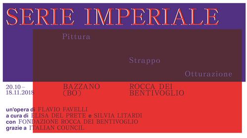 Serie Imperiale, la mostra finale di Flavio Favelli