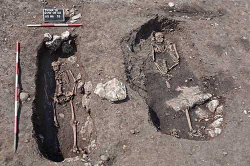 Sul Doss Trento una necropoli di epoca longobarda