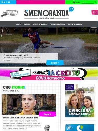 """Un nuovo sito per SMEMORANDA che festeggia con il concorso """"La Smemo la crei tu"""""""