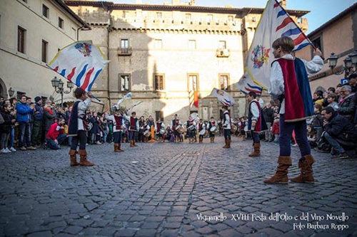 Vignanello: Olio e Vino Novello ma anche Pamparito e tornei musicali storici per la XIX Festa della tradizione